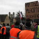 Blokada na drodze krajowej nr 8 w Bardzie (12)