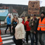Blokada na drodze krajowej nr 8 w Bardzie (15)
