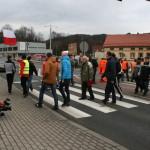Blokada na drodze krajowej nr 8 w Bardzie (20)