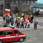 Blokada na drodze krajowej nr 8 w Bardzie (37)