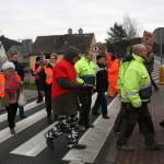 Blokada na drodze krajowej nr 8 w Bardzie (45)