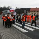 Blokada na drodze krajowej nr 8 w Bardzie (7)
