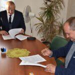 Podpisanie umowy - Lipowa (1)