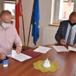 Podpisanie umowy - lampy solarowe (1)