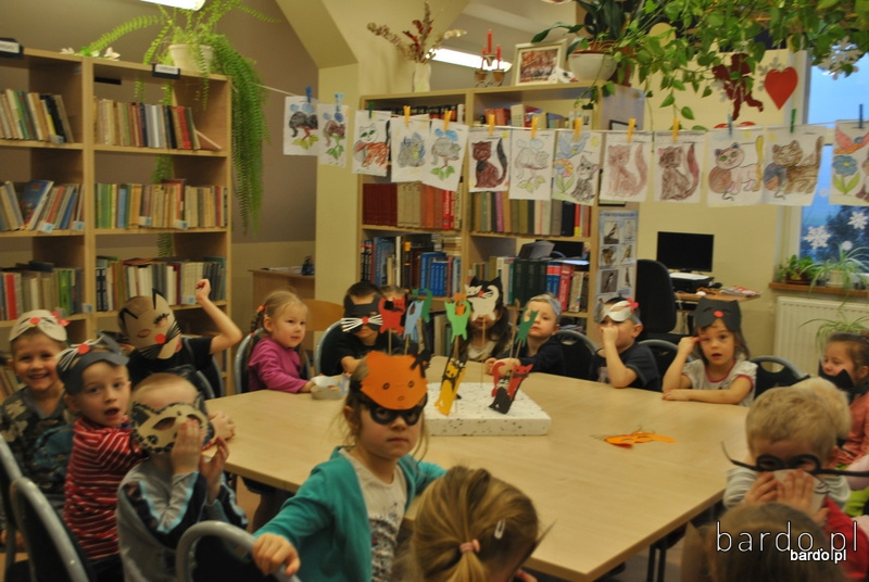 Dzień Kota w bibliotece