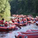 Spływ uczestników ŚDM w Bardzie (17)