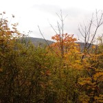 Jesienne wzgórze różańcowe