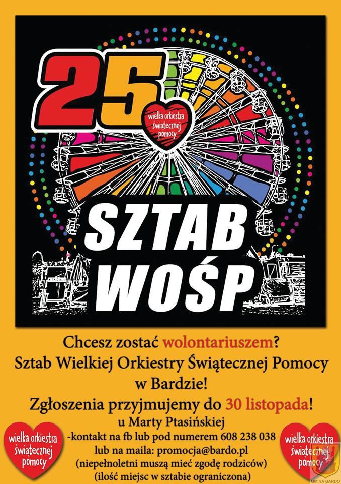 25 Sztab WOŚP w Bardzie