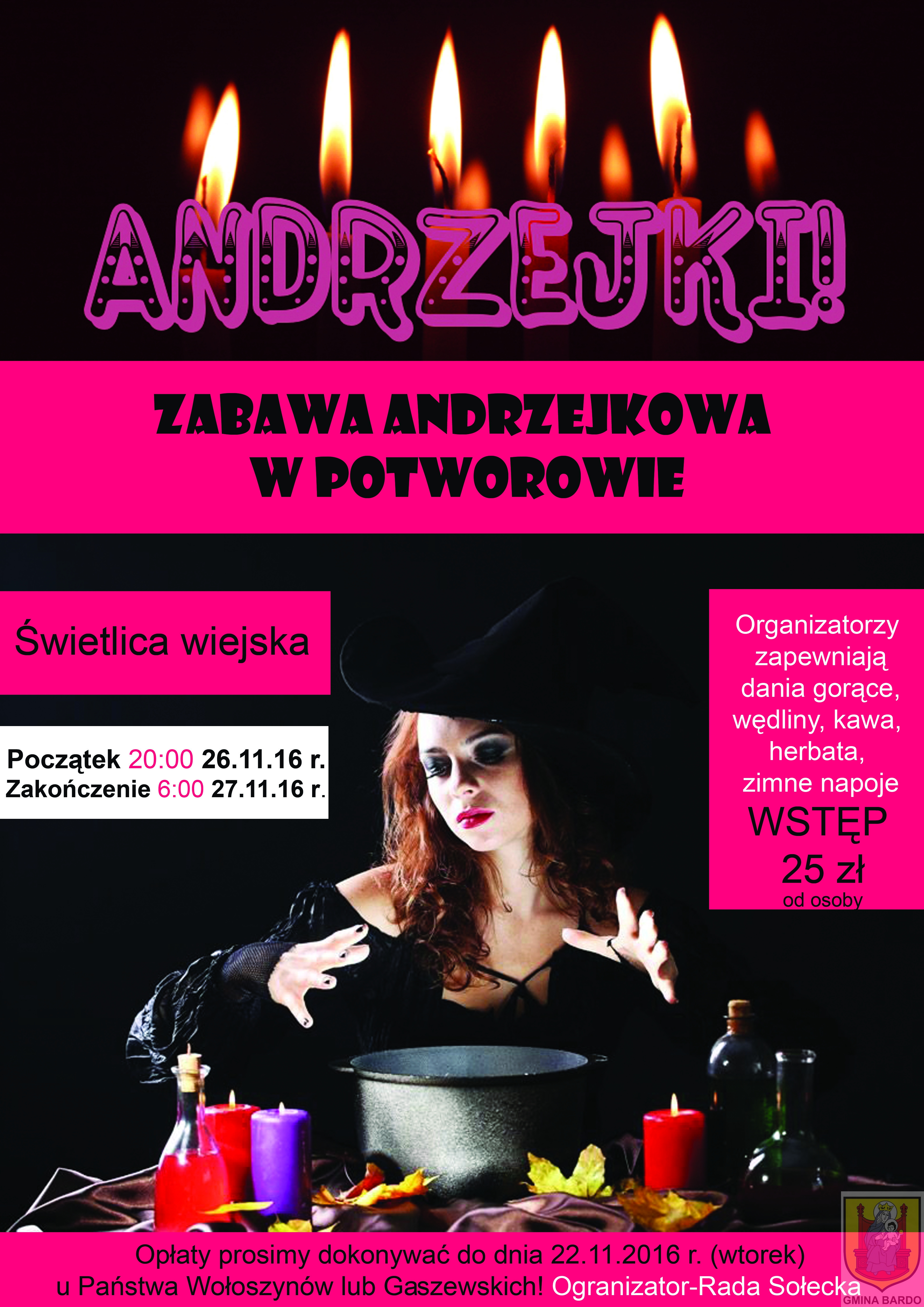 Andrzejki w Potworowie