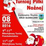 Mikołajkowy turniej piłki nożnej w Ząbkowicach
