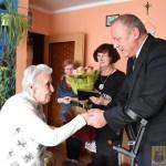 Pani Agnieszka Bździuch obchodziła 93 urodziny (2)