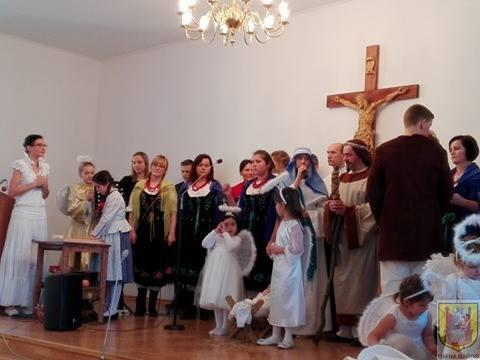 Wiolinek kolęduje u Biskupa Deca (4)