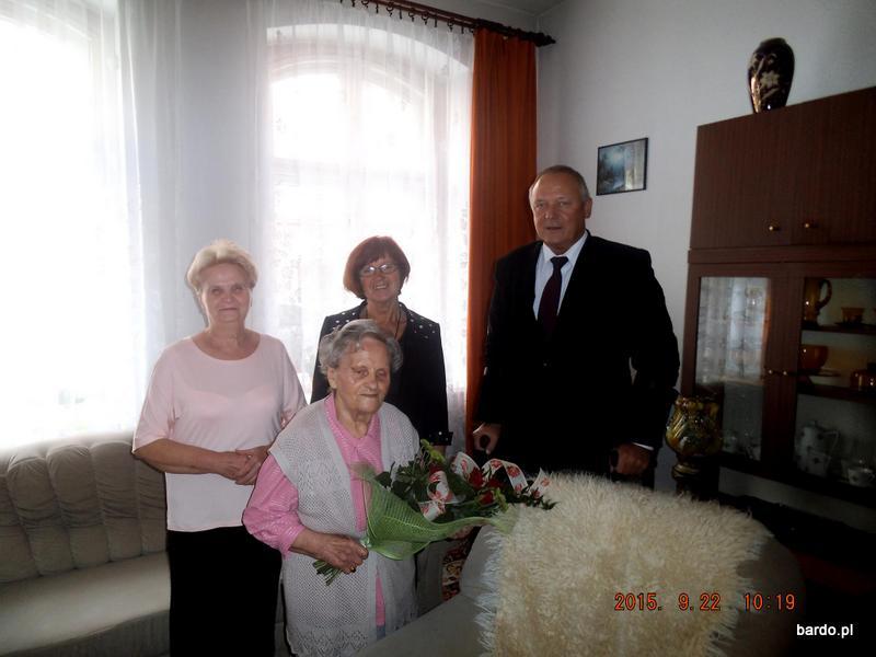93 urodziny Pani Marianny Szymańskiej (4)