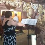 Koncert organowy - Państwo Peruccy (1)