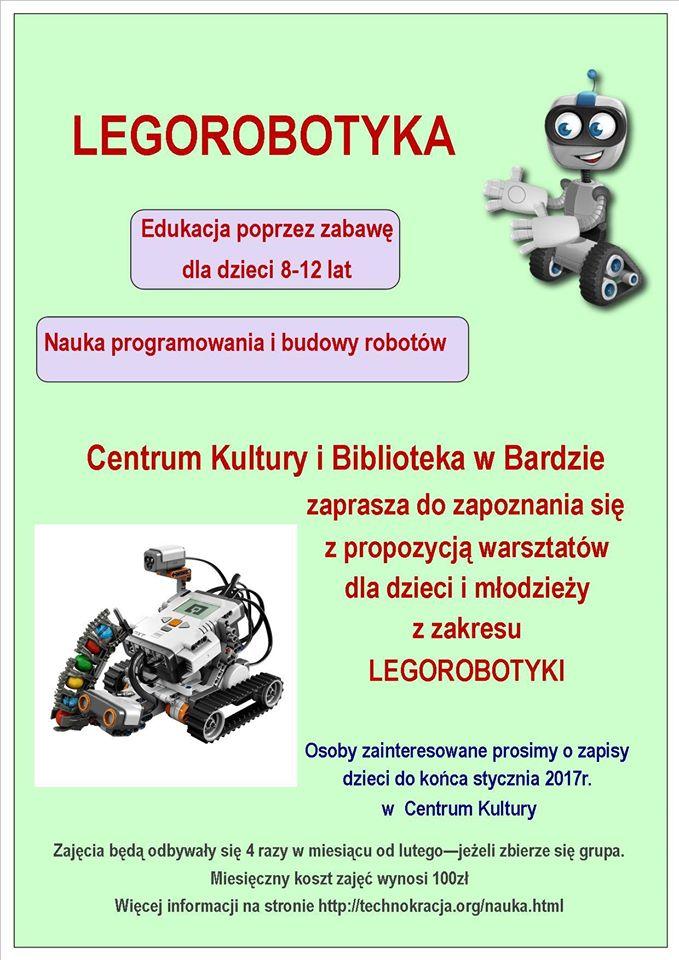Legorobotyka - zajęcia dla dzieci