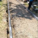 Remont alejek na cmentarzu (2)