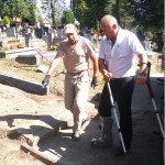Remont alejek na cmentarzu (5)
