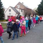 Topienie Marzanny w Czeskiej Skalicy (2)