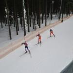 Uczniowie Gimnazjum w Przyłęku kibicami na Mistrzostwach Europy w Biathlonie (12)