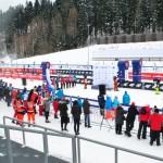 Uczniowie Gimnazjum w Przyłęku kibicami na Mistrzostwach Europy w Biathlonie (14)