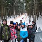 Uczniowie Gimnazjum w Przyłęku kibicami na Mistrzostwach Europy w Biathlonie (4)