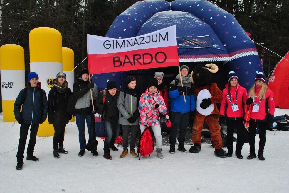 Uczniowie Gimnazjum w Przyłęku kibicami na Mistrzostwach Europy w Biathlonie (7)