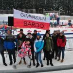 Uczniowie Gimnazjum w Przyłęku kibicami na Mistrzostwach Europy w Biathlonie (8)
