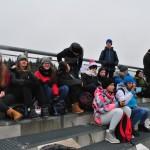 Uczniowie Gimnazjum w Przyłęku kibicami na Mistrzostwach Europy w Biathlonie (9)