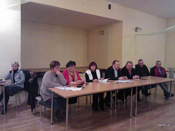 Wybory sołtysa w Przyłęku (2)
