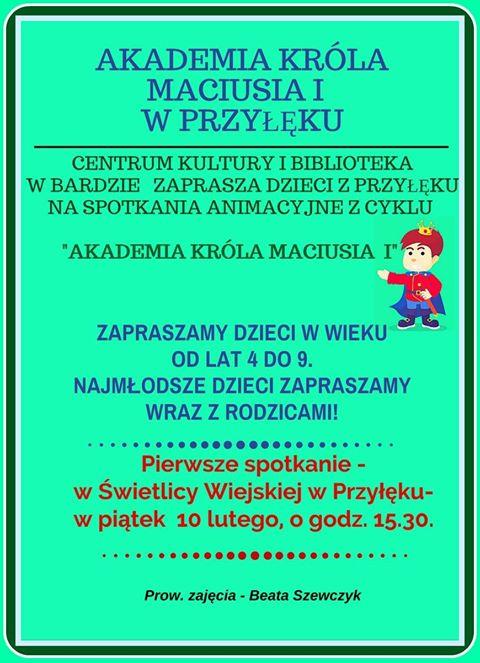 Akademia Króla Maciusia I w Przyłęku
