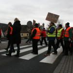 Blokada na drodze krajowej nr 8 w Bardzie (13)