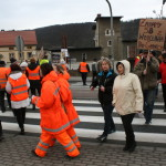 Blokada na drodze krajowej nr 8 w Bardzie (22)