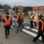 Blokada na drodze krajowej nr 8 w Bardzie (29)