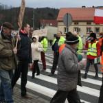 Blokada na drodze krajowej nr 8 w Bardzie (33)