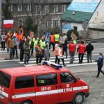 Blokada na drodze krajowej nr 8 w Bardzie (35)