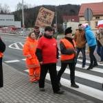 Blokada na drodze krajowej nr 8 w Bardzie (42)