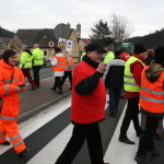 Blokada na drodze krajowej nr 8 w Bardzie (46)