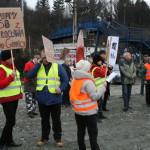 Blokada na drodze krajowej nr 8 w Bardzie (5)