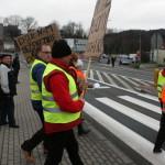 Blokada na drodze krajowej nr 8 w Bardzie (6)