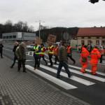 Blokada na drodze krajowej nr 8 w Bardzie (8)