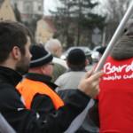 Blokada na drodze krajowej nr 8 w Bardzie (9)