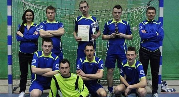 DPS Zamek najlepszy w halowym turnieju piłki nożnej