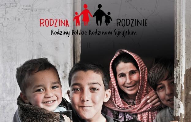 Rodzina Rodzinie - pomoc rodzinom z Syrii