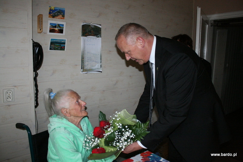 92 urodziny Pani Janiny Ćwikły (1)