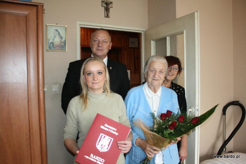 92 urodziny Pani Julii Gołębiowskiej (7)
