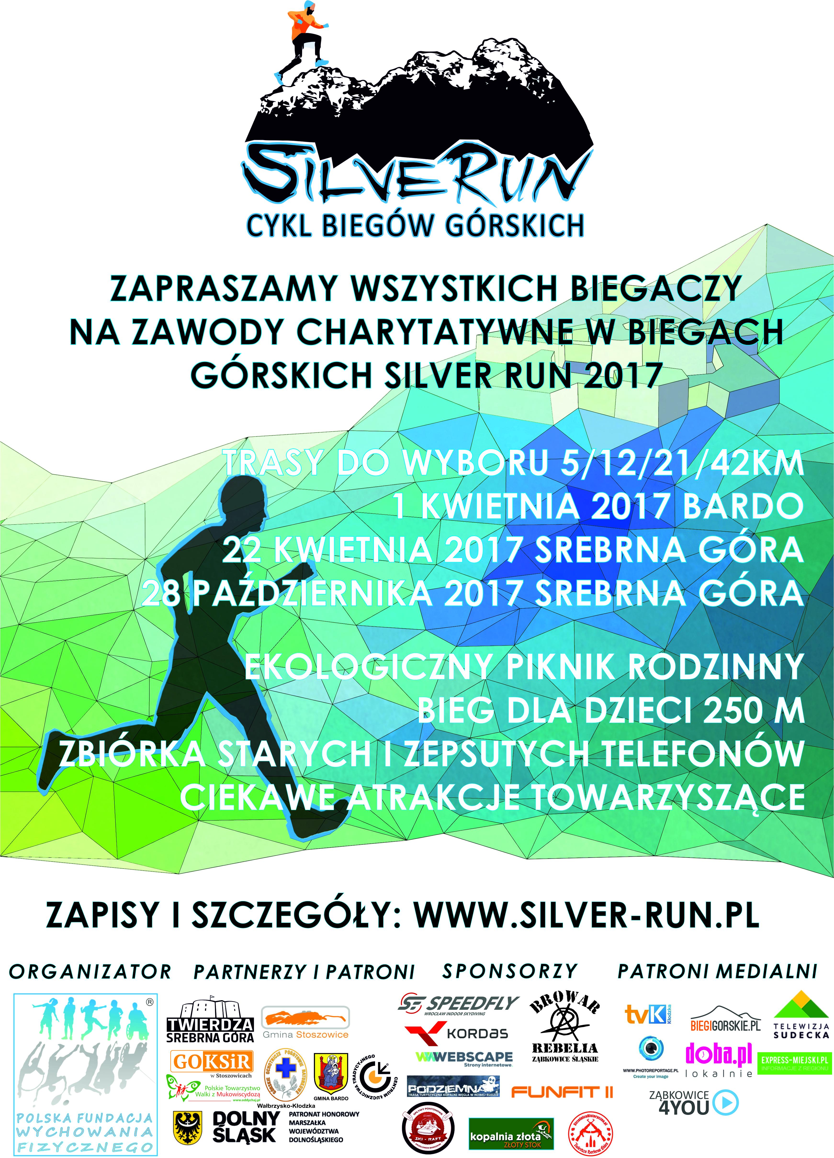 Plakat Silver Run 2017