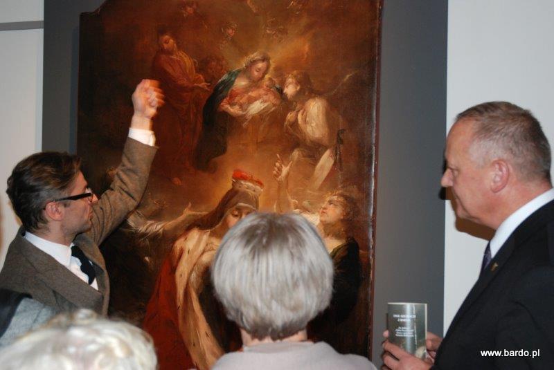 Pokaz odnowionych obrazów Michaela Willmanna (31)