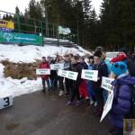 VII Dolnośląski Mityng w Narciarstwie Zjazdowym Olimpiad Specjalnych  (1)