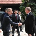 Minister Zdrojewski w Bardzie (1)