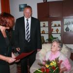 91 urodziny Pani Marianny Szymańskiej (2)